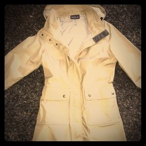Tan Patagonia Trench Raincoat